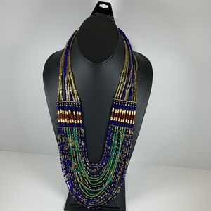 Jewelry - 5/$25 Beaded Long Necklace